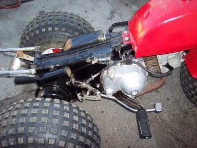 81 82 83 HONDA ATC110 ATC 110 MOTOR ENGINE CRANK CASE | eBay