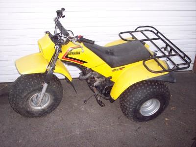 83 84 85 yamaha ytm200 ytm 200 trimoto tri moto 3 wheeler for Yamaha 200e 3 wheeler