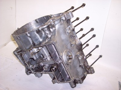 87 88 89 Honda CBR600F CBR600 CBR 600 F Motor Engine Block Crankcase Crank Case