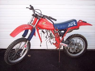 Tp on 1983 Xr200r Good