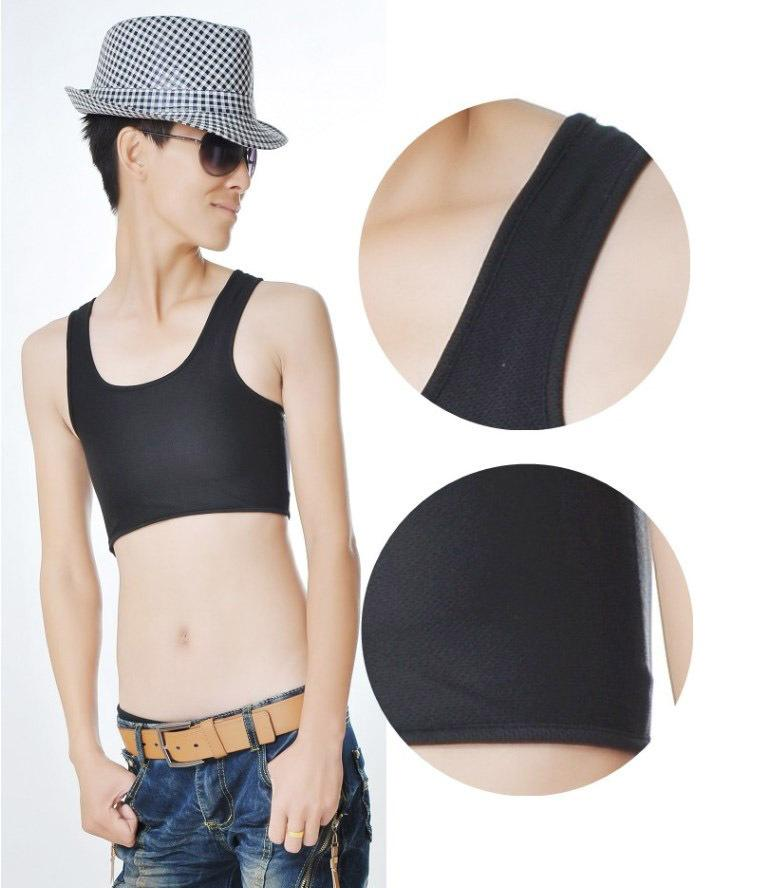 New Style Breathable Strapless Chest Breast Binder Trans