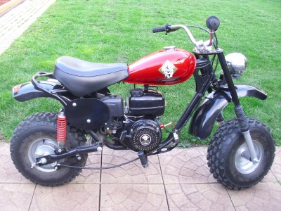 Puma 200 - Adult Size Mini Chopper Gas Mini Bike Dirtbike ...  Mini Bikes For Adults