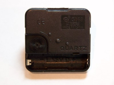 Quartz Snap In Clock Movement Motor W Push On Hands