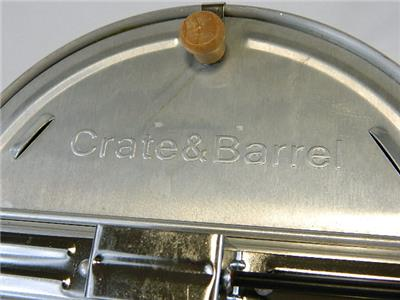 Crate And Barrel Stove Top Crank Style Popcorn Popper Ebay