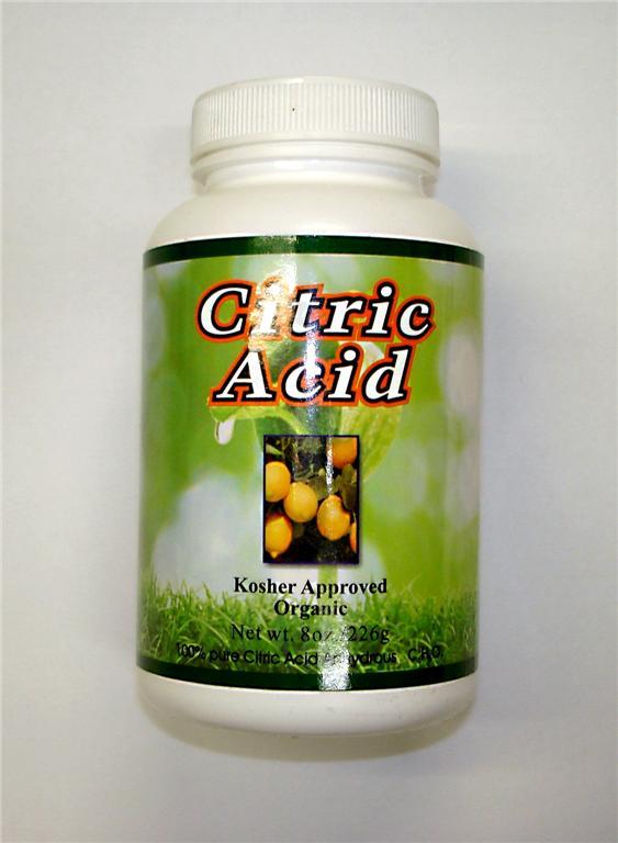 100% Pure Citric Acid Anhydrous 8oz Organic Powder   eBay