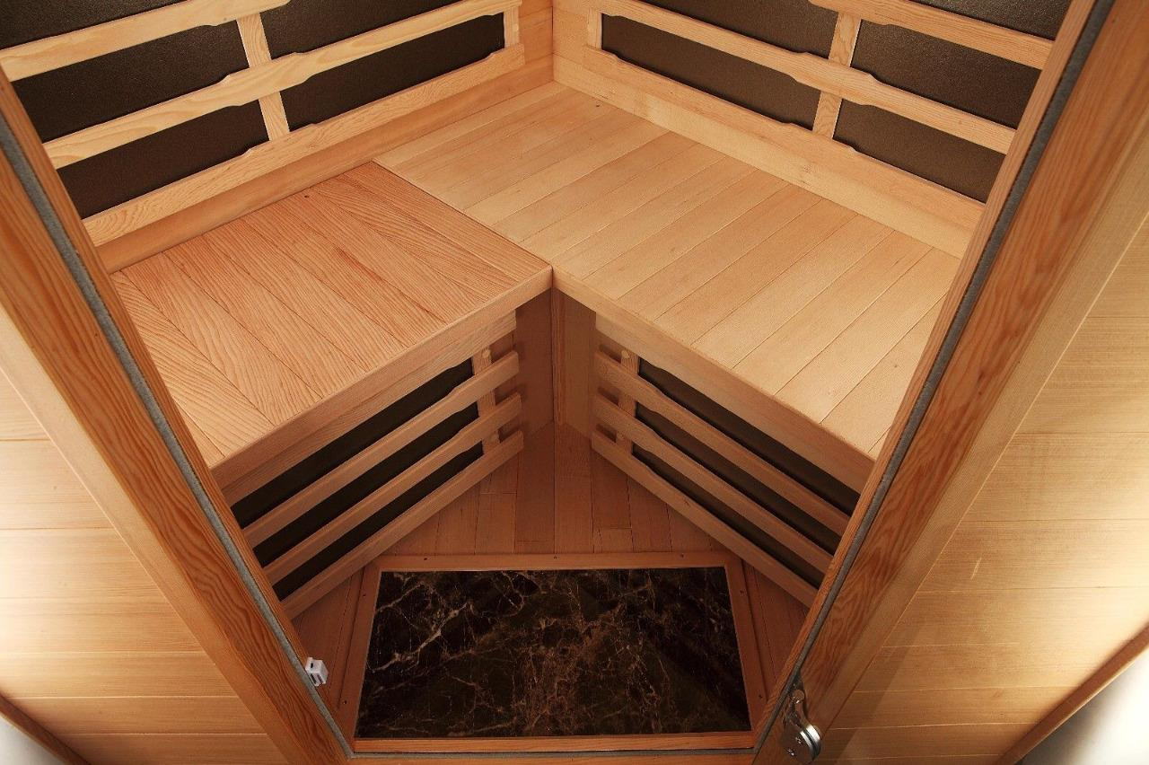 Details Zu Canadian Spa Aspen 4 Person Weit Infrarot Sauna 7 Carbon Heizkorper Audio Leds