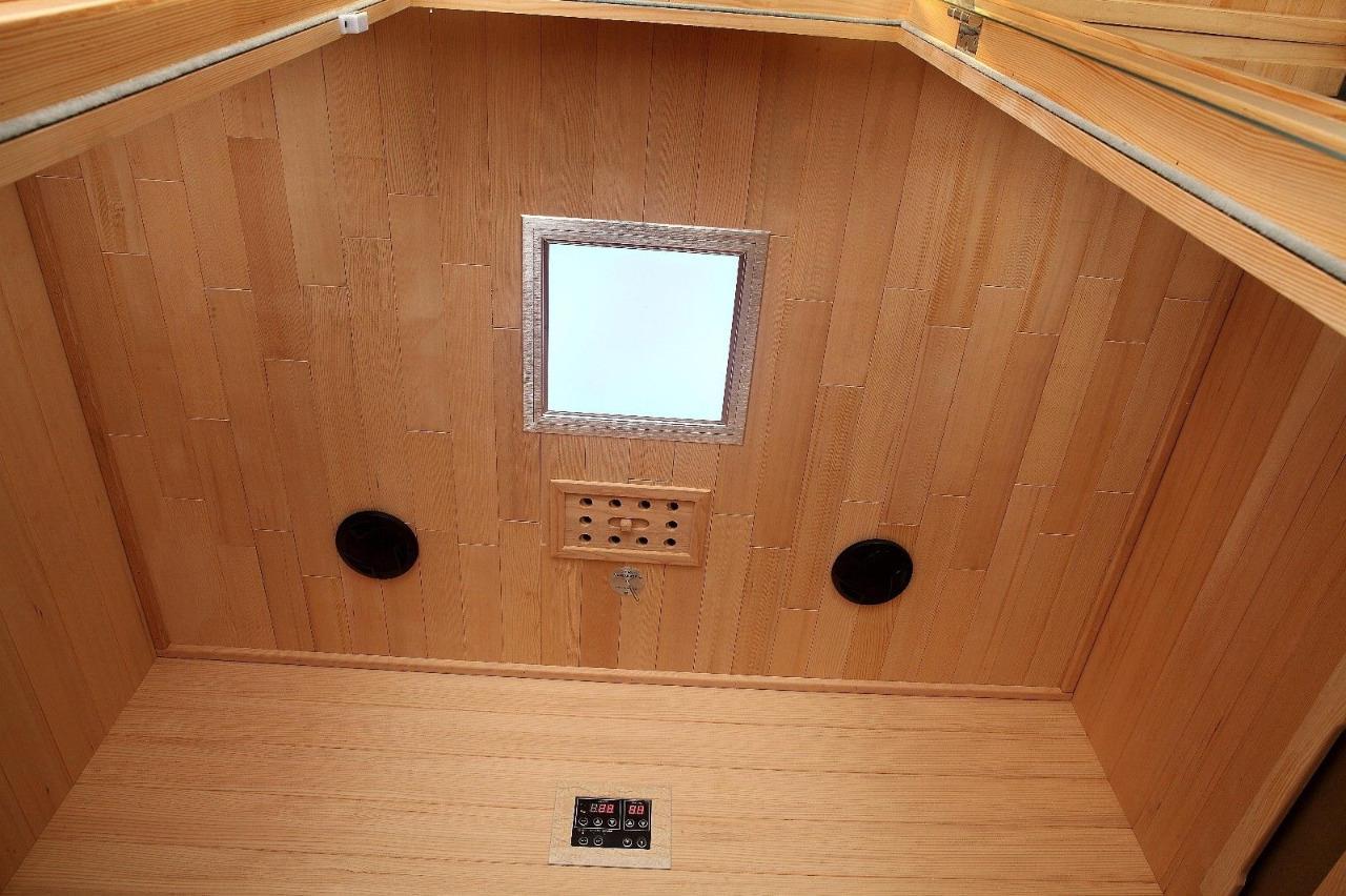 Details About Canadian Spa Whistler 4 Person Weit Infrarot Sauna 12 Carbon Infrarot Heizkorper