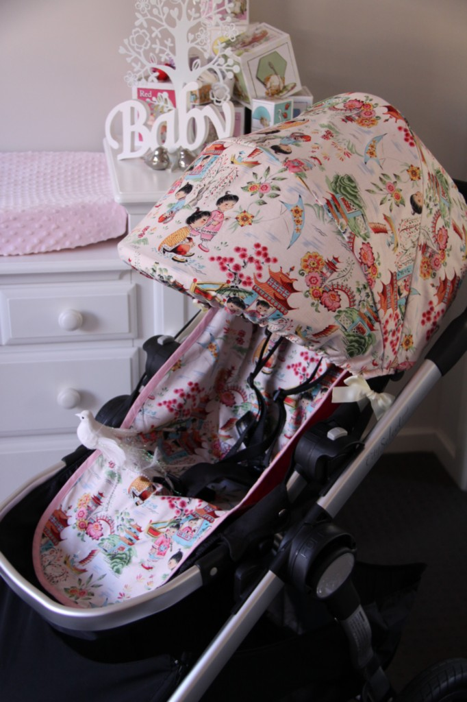 Baby Jogger City Select Seat Cover Velcromag