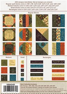 Quilt for All Seasons Autumn Anita Goodesign Embroidery Design CD NEW