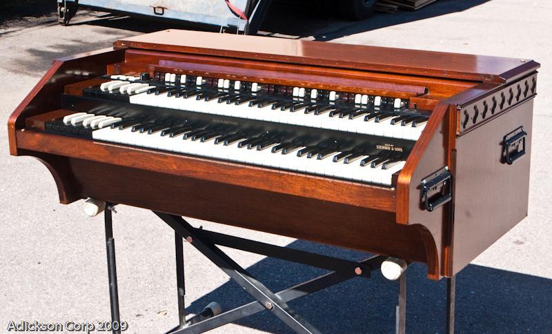 custom chopped portable hammond c2 c 2 organ 3 b ebay. Black Bedroom Furniture Sets. Home Design Ideas