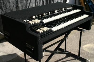 beautiful custom chopped portable hammond b 3 organ b3 ebay. Black Bedroom Furniture Sets. Home Design Ideas