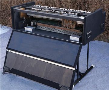 beautiful custom chopped portable hammond organ 3 c b ebay. Black Bedroom Furniture Sets. Home Design Ideas