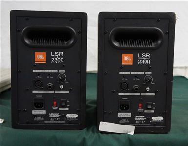 Jbl Lsr 2300 : 2 jbl lsr 2300 series lsr2325p studio monitor speakers 2325p j116 ebay ~ Hamham.info Haus und Dekorationen