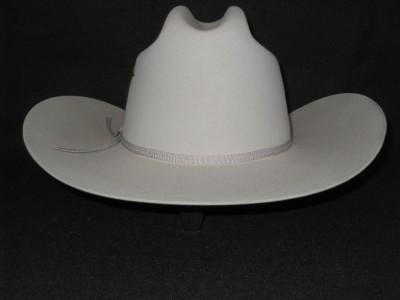 59bd28b40f6 New Stetson Rancher Grey 4X Beaver Felt Cowboy Hat on PopScreen