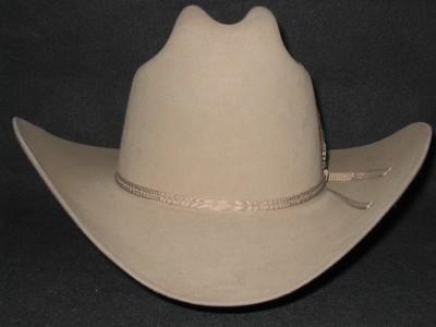 76a5fae4790 New Stetson Rancher Sahara 4X Beaver Felt Cowboy Hat on PopScreen