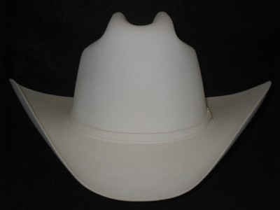 71b744c9f5cd6 30X Stetson El Patron White Beaver Fur Felt Cowboy Hat on PopScreen