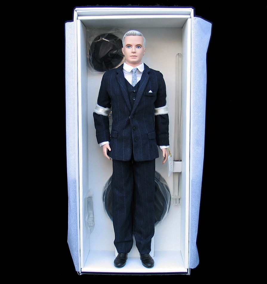 Barbie Collector 2010 Roger Sterling Fan Club Exclusive Mad Men Ken Doll T4549