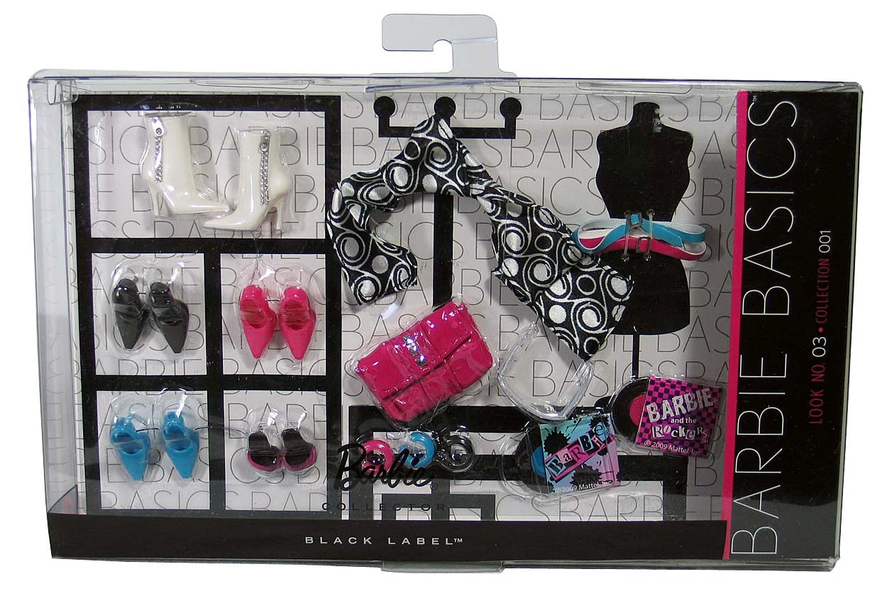 Barbie Basics Accessory Pack Look No 3 03 003 3 0 Collection 1 01 001 1 0 01 0 Ebay