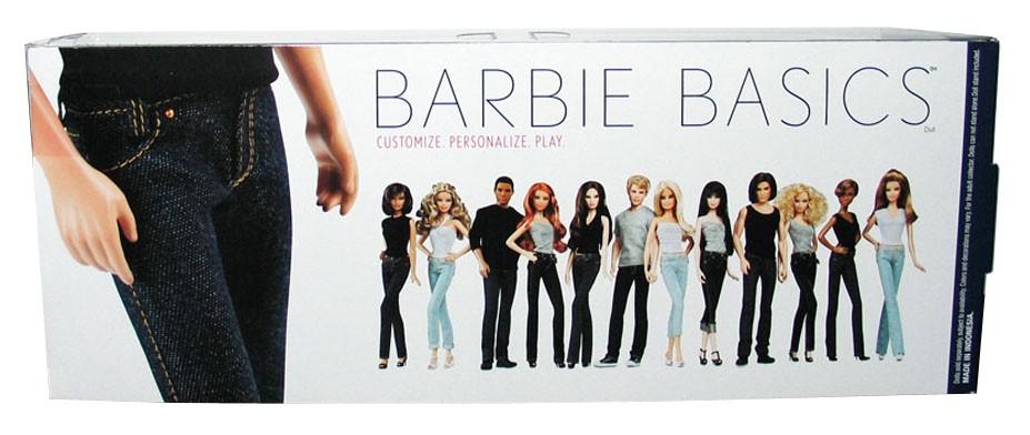 Barbie Basics Ken Doll Muse Model No 15 015 15 0