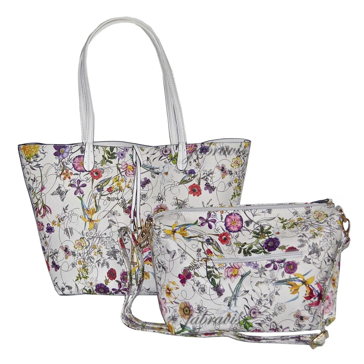 Imoshion Floral Saffiano Texture Giada 2 Pc Reversible 4