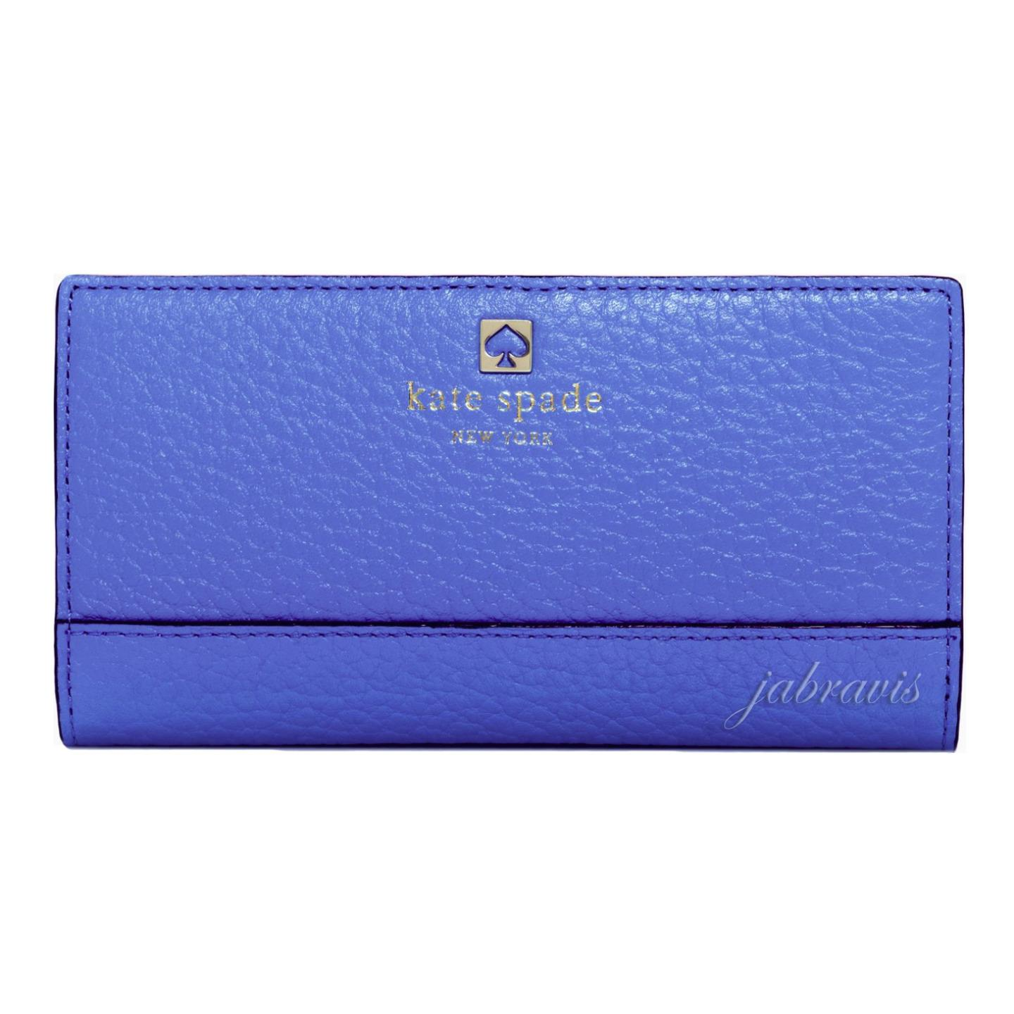 Kate Spade Bluebelle Blue Leather Southport Avenue Stacy