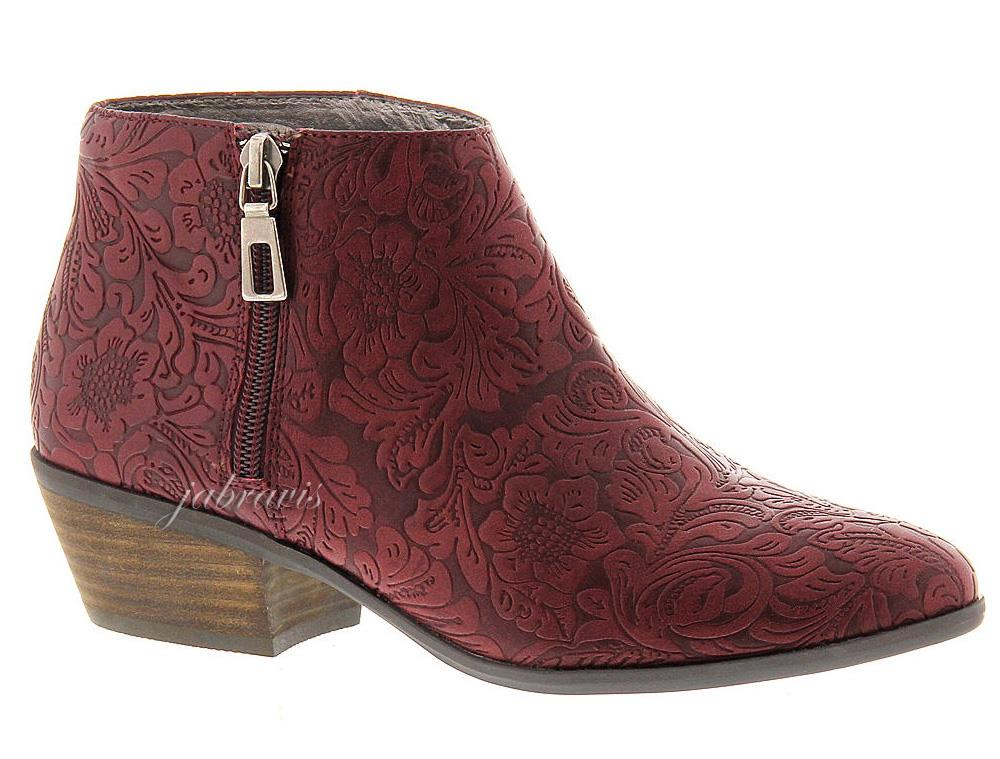 Very Volatile Fairchild Tooled Embossed Ankle Boot