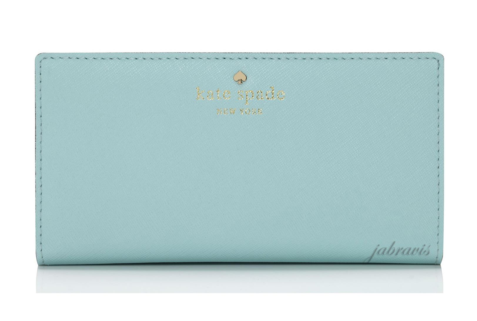 Kate Spade Cy Blue Saffiano Leather Mika S Pond Stacy