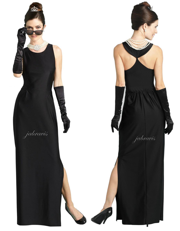 Audrey Hepburn Desayuno Tiffany S Givenchy Maxi Vestido