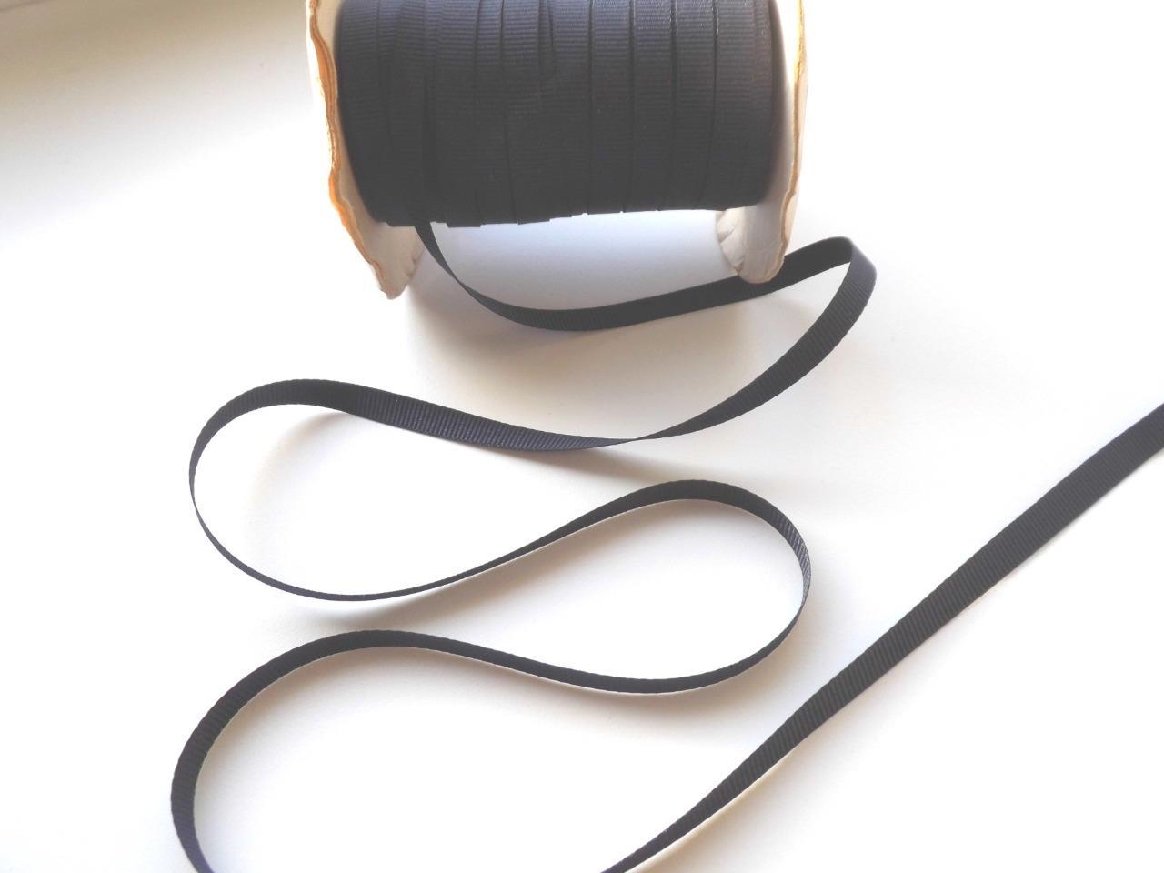 "10 metres TINY WHITE GROSGRAIN RIBBON 1//2/"" 7mm  trim seam polyester tape X10M RE"