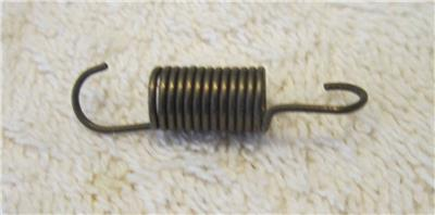 SMALL VERY STRONG EXTENSION SPRINGS WITH HOOKED ENDS .038 WIRE-1-3//8 LONG 6