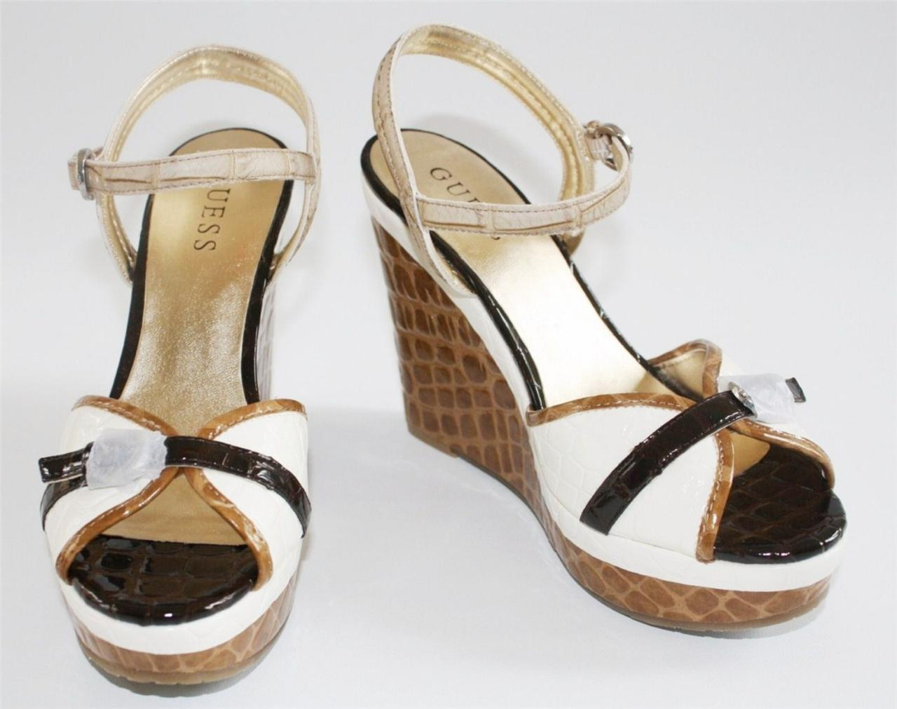Women S Shoes Guess Incrost Platform Wedge Slingback