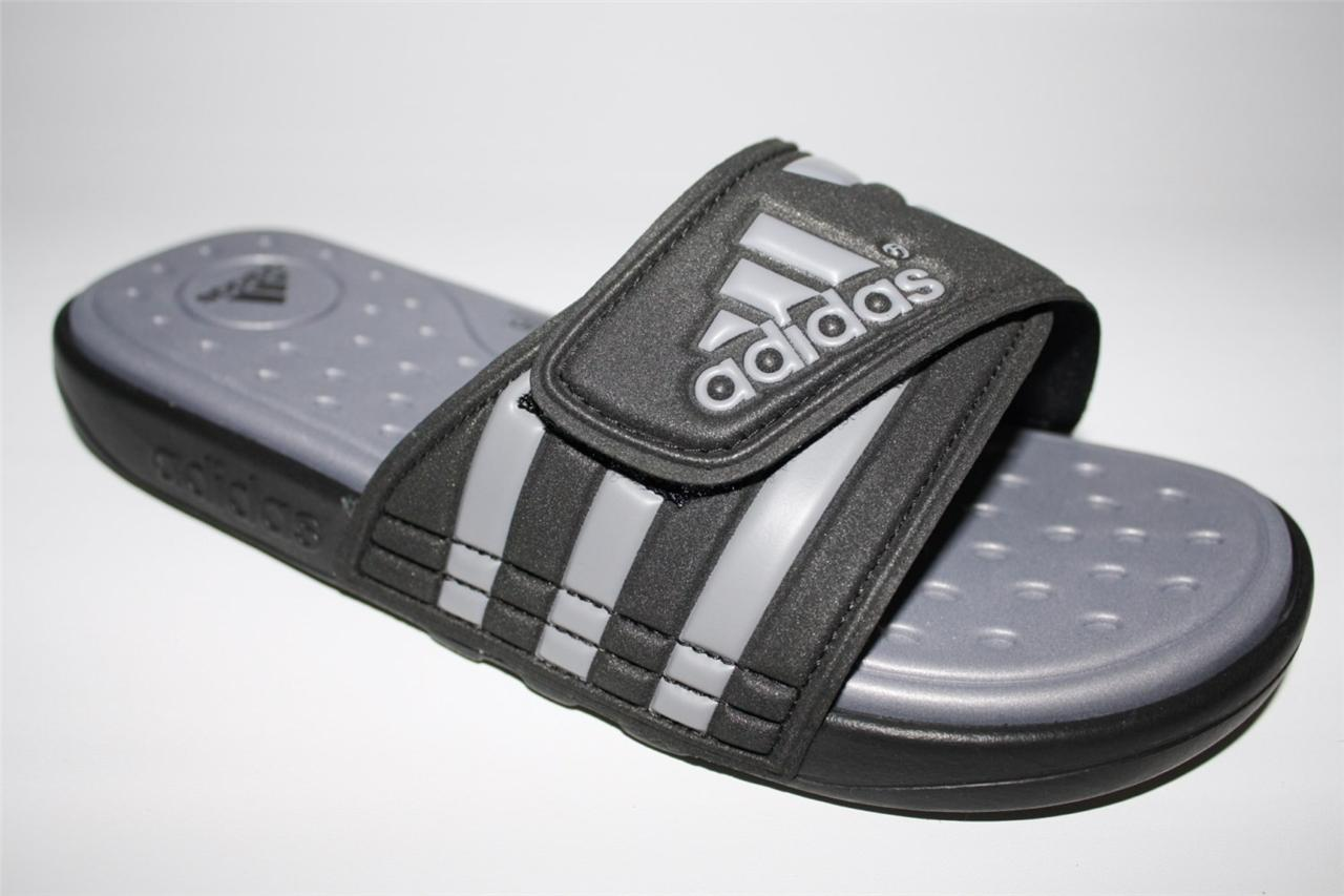 Mens Shoes Adidas Adissage Sc Open Toe Slide Sandals Black