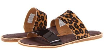 Womens Shoes Ugg Amalia Slip On Sandals Flats Leopard Ebay
