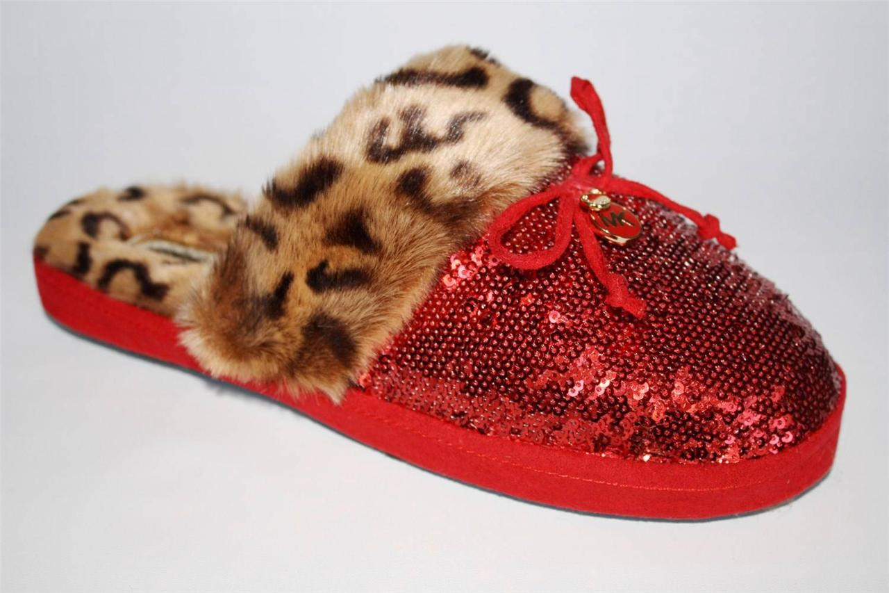 c641346d3cac1 Image is loading Womens-Shoes-Michael-Kors-ZAYDEN-SLIPPER-Leopard-Faux-