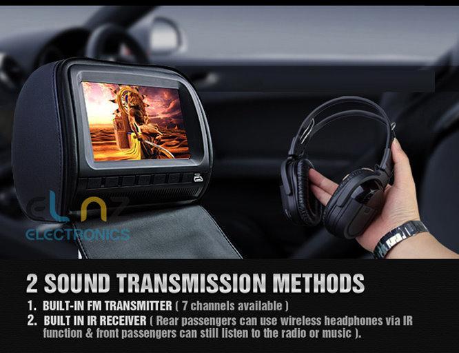 HD905WPCL 2 sound transmission methods