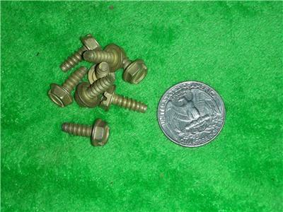 1000 Hex Slotted Washer Head Sheet Metal Screw 8 X1 2
