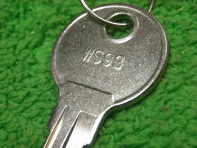 125 Wind Bulk Spare Replacement Cam Lock Key Ws93 Ebay