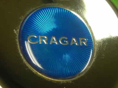 4 3 8 Cragar Chrome Directional Wheel Truck Center Cap