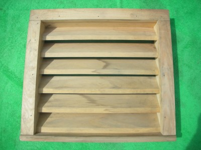 1 Wood Flush Mount Attic Gable Louver Wall Vent 19 1 2 Quot Ebay
