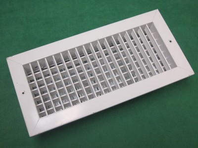 2 White Hvac Supply Outlet Vent Grille Register 14 X 6