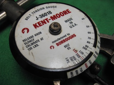 Kent Moore J 36018 Belt Tension Gauge Gage Gm Quad 4