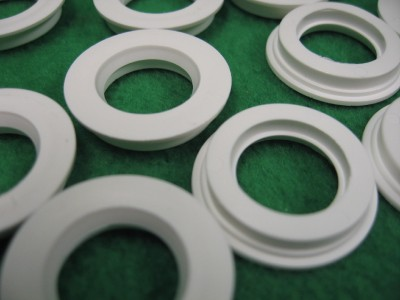 100 5 8 Nylon Plastic Flanged Sleeve Spacer Bushing Insert