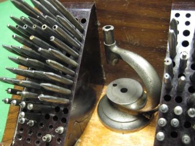 Vintage C Amp E Marshall Watch Making Maker Repair Staking Tool Kit Clock Repair Ebay