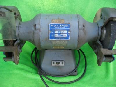 Baldor 8107w Industrial Double End Grinder Buffer 3 4hp