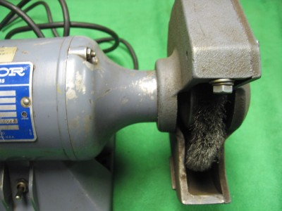 Baldor 632e Industrial Double End Grinder Buffer 1 4hp