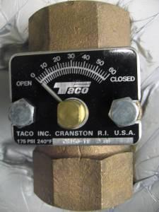 Taco Circuit Setter Cs150t1 Balance Valve 1 1 2 Quot 175 Psi 0