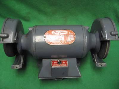 Dayton 6 Quot Industrial Double End Grinder Buffer 1 4hp 115v