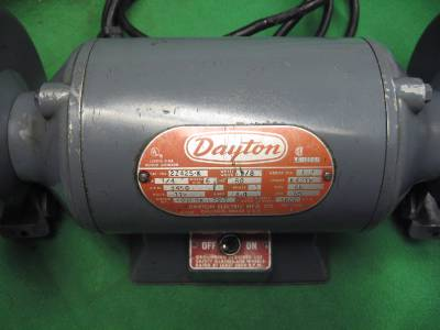 dayton 6 industrial double end grinder buffer 1 4hp 115v. Black Bedroom Furniture Sets. Home Design Ideas