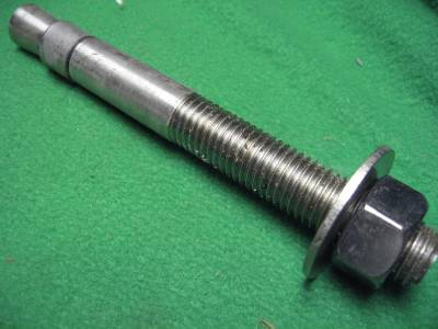 OT- Drilling holes in concrete for wedge anchor bolts |Wedge Bolts Concrete