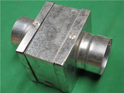 4 X 4 Hvac Galvanized Fire Damper 4 Quot Round Duct Pipe